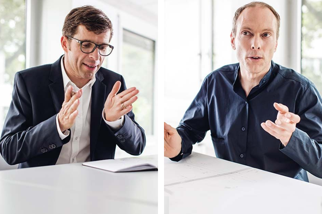 Markus Riese et Heiko Muller