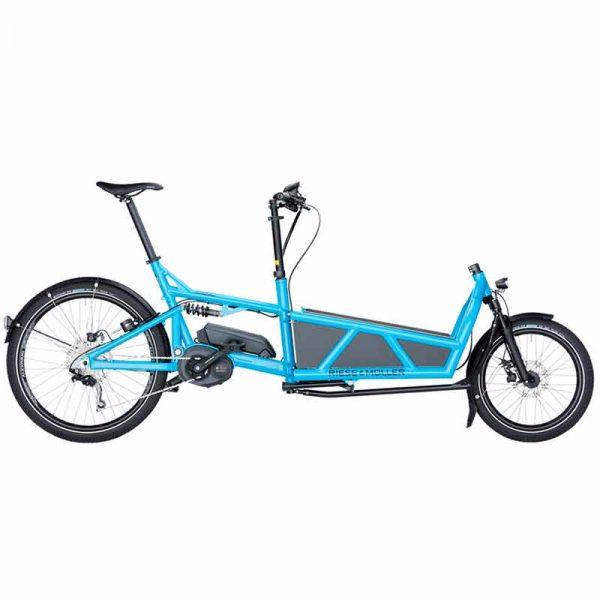 velo-cargo-electrique-riese-et-muller-load-light-cyclistes-branches-paris