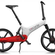 GoCycle GS Blanc Rouge