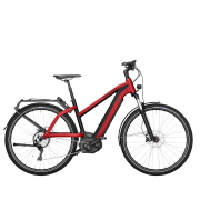 Charger Mixte touring rouge