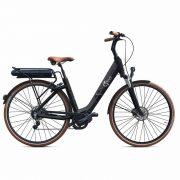 velo-electrique-O2feel-swan-alfine-di2-cyclistes-branches-paris
