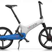 GoCycle GS Blanc Bleu